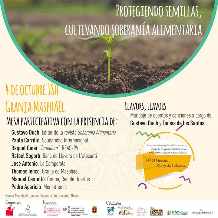 Protegiendo semillas, cultivando soberanía alimentaria