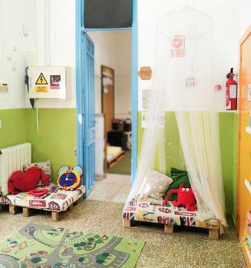 Ambientes y espacios CEIP Bacarot