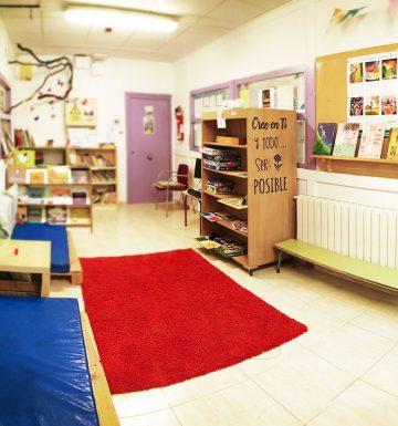 Espacio biblioteca de primaria